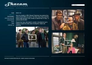 Shazam website