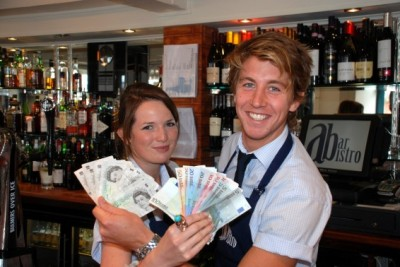 abarbistro-waiters-Lucy-Mills-and-Charlie-Ingham.-Picture-by-Now-PR-Limited-566x378